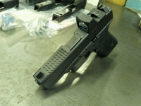 Glock Slide Milling for Trijicon RMR with Half Top Serrations Front and Rear Enhanced Side Serrations