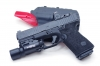 Glock Slide Milling for Trijicon RMR, Front and Rear Enhanced Side Serrations