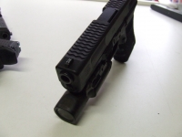 Glock Full Top Serrations, Front and Rear Enhanced Side Serrations, Nitride