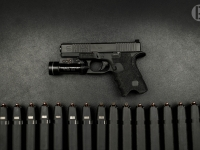 Glock Full Top Serrations with Front and Rear Enhanced Side Serrations