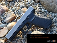 Glock Full Top Serrations, Enhanced Side Serrations Rear only