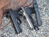 M&P9 Trijicon RMR Install with Half Top Serrations