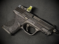 M&P9 Trijicon RMR Install with Front Cocking Serrations