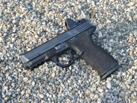 M&P9 Trijicon RMR Install with Side Cocking Serrations